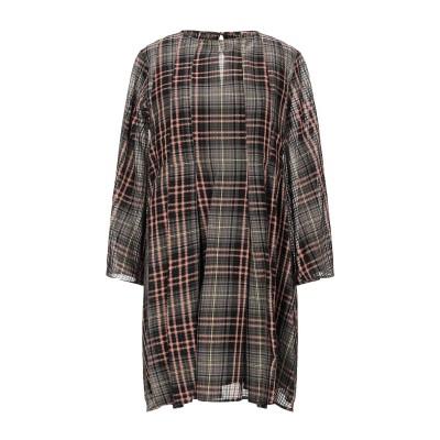 アリジ ALYSI ミニワンピース&ドレス ブラック 42 コットン 88% / シルク 12% ミニワンピース&ドレス