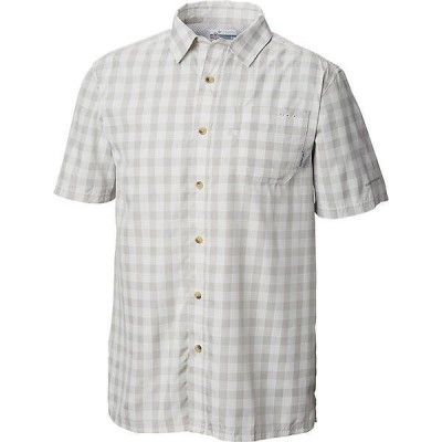 (取寄)コロンビア メンズ スーパー スラック タイド キャンプ シャツ Columbia Men's Super Slack Tide Camp Shirt Cool Grey Check