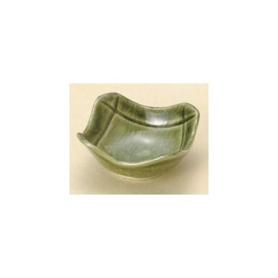 和食器織部削ぎ角珍味/大きさ・7.5×7.5×3.3cm