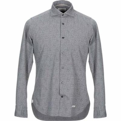 ティントリア マッティ TINTORIA MATTEI 954 メンズ シャツ トップス patterned shirt Grey