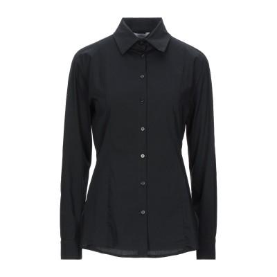 NODO シャツ ブラック S コットン 100% シャツ