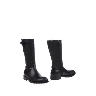 トッズ TOD'S ブーツ ブラック 7.5 革 ブーツ