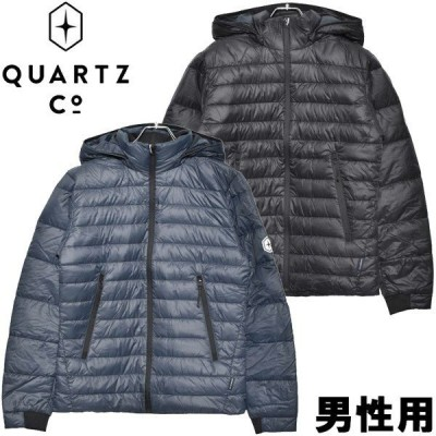 クオーツ コー メンズ ライトダウンジャケット LANS QUARTZ Co. 2173-0005