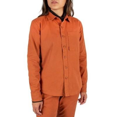 トポ・デザイン レディース シャツ トップス Topo Designs Dirt Shirt - Women's Brick