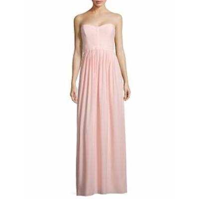 パーカーブラック レディース ワンピース Bayou Strapless Silk Gown