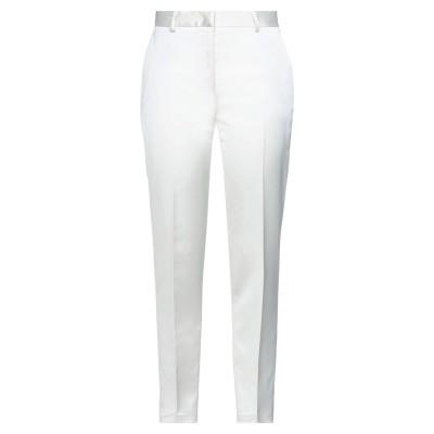 マニュエル リッツ MANUEL RITZ パンツ ホワイト 42 ポリエステル 96% / ポリウレタン 4% パンツ
