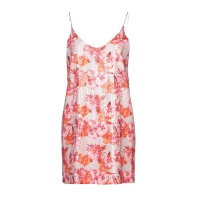 SOALLURE ミニワンピース&ドレス ベージュ 40 ポリエステル 100% ミニワンピース&ドレス