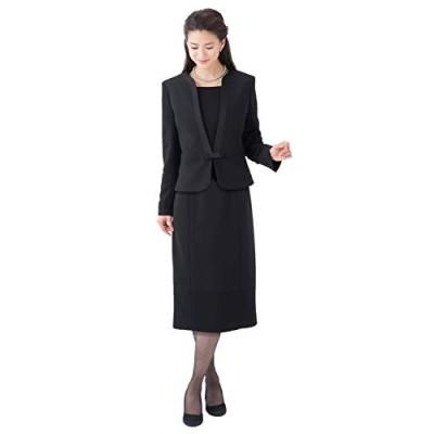 (ティセ) TISSE ブラックフォーマル 喪服 洗える レディース ワンピース スーツ 大きいサイズ 【洗濯ネット付】 lq-104