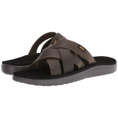 テバ Teva メンズ サンダル シューズ・靴 Voya Slide Leather Dark Olive
