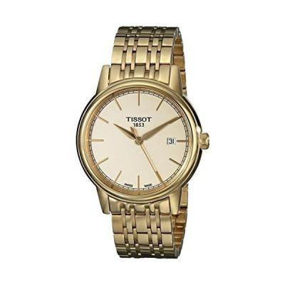 Tissot Men's T0854103302100 Analog Display Quartz Gold Watch 並行輸入品