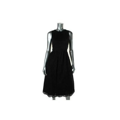 ドレス ワンピース Shoshanna Shoshanna 4010 レディース ブラック Lace ノースリーブ Party Cocktail ドレス 10 BHFO