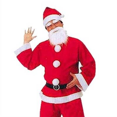 メンズ サンタクロース s8177 サンタスーツ サンタ パーティー クリスマス 衣装  お取り寄せ商品
