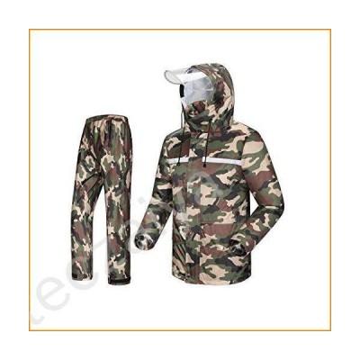 Men's/Woman Rain Suit Hooded Raincoat Trousers Waterproof Jacket/Set並行輸入品