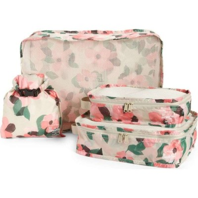 ハーシェル サプライ HERSCHEL SUPPLY CO. メンズ バッグ Travel Organizer Set Blush Petals Pelican