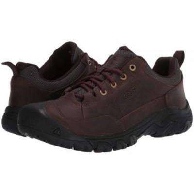 Keen キーン メンズ 男性用 シューズ 靴 ブーツ ハイキング トレッキング Targhee III Oxford Dark Earth/Mulch【送料無料】