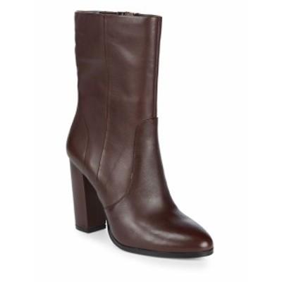 サックスフィフスアベニュー レディース シューズ ブーツ Harper Leather Booties
