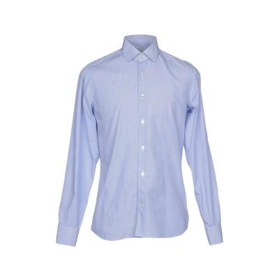 DOMENICO TAGLIENTE シャツ ブルー 38 コットン 100% シャツ