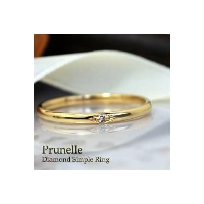 リング 指輪 レディース シンプル おしゃれ ダイヤモンド リング 18金 18k K18 本物 おしゃれ 人気 華奢 重ね付け デザイン 送料無料