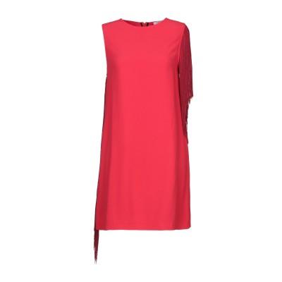 ジャッカ JUCCA ミニワンピース&ドレス レッド 38 レーヨン 99% / ポリウレタン 1% ミニワンピース&ドレス