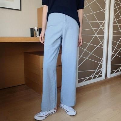 HEYLADY レディース パンツ Beef linen cotton pants