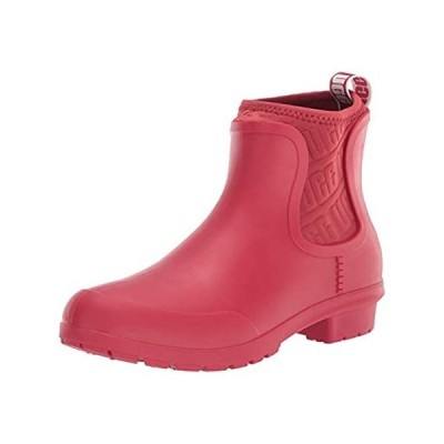 UGG Women's Chevonne Ankle Boot, Ribbon Red, 8