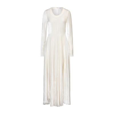 TOME ロングワンピース&ドレス アイボリー 4 レーヨン 84% / シルク 16% ロングワンピース&ドレス