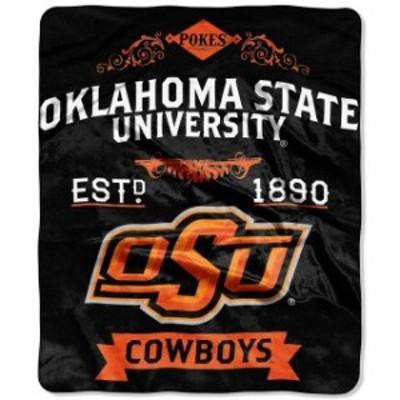 The Northwest Company ザ ノースウエスト カンパニー スポーツ用品  Oklahoma State Cowboys 50 x 60 Label Plush Blanket