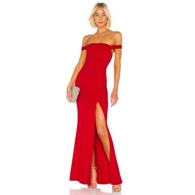 ラヴァーズフレンズ Lovers + Friends レディース パーティードレス ワンピース・ドレス Caspian Gown Fiery Red