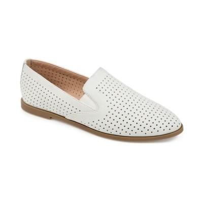 ジャーニーコレクション サンダル シューズ レディース Women's Comfort Foam Lucie Flat White