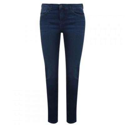 アルマーニ EMPORIO ARMANI レディース ジーンズ・デニム ボトムス・パンツ High-Rise Skny Jeans Denim Blu