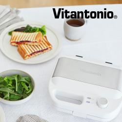 日本Vitantonio 小V多功能計時鬆餅機 VWH-500B-W 雪花白