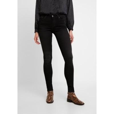 オンリー レディース デニムパンツ ボトムス ONLSHAPE - Jeans Skinny Fit - black denim black denim