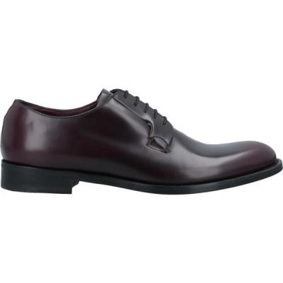ネルソン NELSON メンズ 革靴・ビジネスシューズ シューズ・靴 Laced Shoes Deep purple