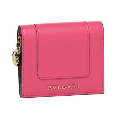 (BVLGARI/ブルガリ)ブルガリ 折財布 レディース BVLGARI 288858 ピンク/レディース その他