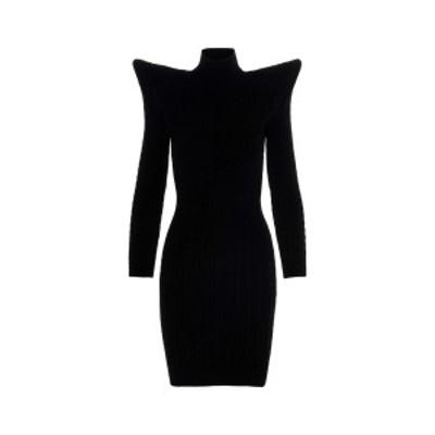 BALENCIAGA/バレンシアガ Black   Knit braided turtleneck dress レディース 秋冬2020 641506T51521000 ju