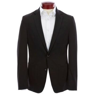ムラノ メンズ ジャケット&ブルゾン アウター Wardrobe Essentials Slim-Fit Suit Separates Knit Blazer Black