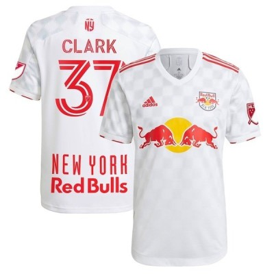 アディダス メンズ Tシャツ トップス Caden Clark New York Red Bulls adidas 2021 1Beat Authentic Player Jersey