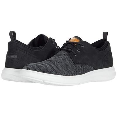 ロックポート Beckwith Plain Toe Oxford メンズ スニーカー 靴 シューズ Black Nubuck/Mesh