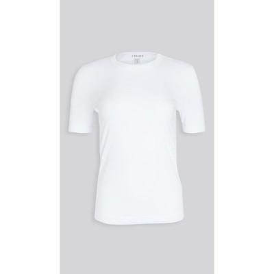 ジェイ ブランド J Brand レディース Tシャツ トップス Marta Crew Neck Short Sleeve Tee White