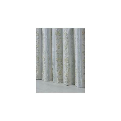 遮光裏地付カーテン エレンシア 100×135cm 2枚入 イエロー