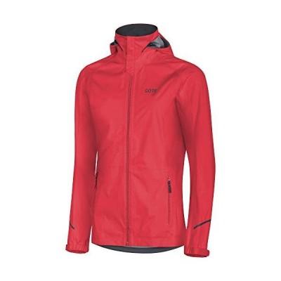 GORE Wear R3 Ladies Hooded Jacket GORE-TEX Active, M, Rot(並行輸入品)