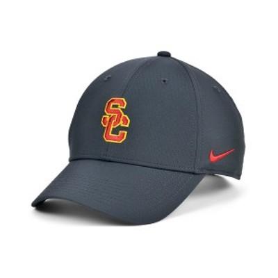 ナイキ メンズ 帽子 アクセサリー USC Trojans Dri-Fit Adjustable Cap Anthracite
