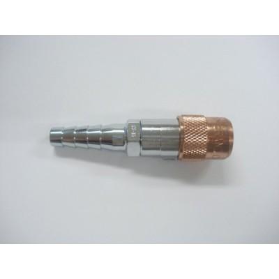 ホース用チヨコック ソケット / CS-TG4 内径5mm 可燃ガス用