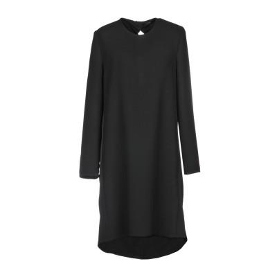 VICTORIA, VICTORIA BECKHAM ミニワンピース&ドレス ブラック 10 100% ポリエステル ミニワンピース&ドレス