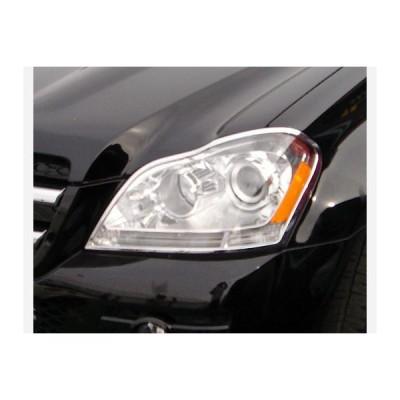 メルセデスベンツ GLクラス X164 ヘッドライト クローム リム