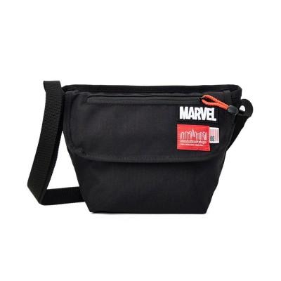 【カバンのセレクション】 マンハッタンポーテージ マーベル ショルダーバッグ メッセンジャーバッグ Manhattan Portage MARVEL mp1603marvel20ss ユニセックス ブラック フリー Bag&Luggage SELECTION