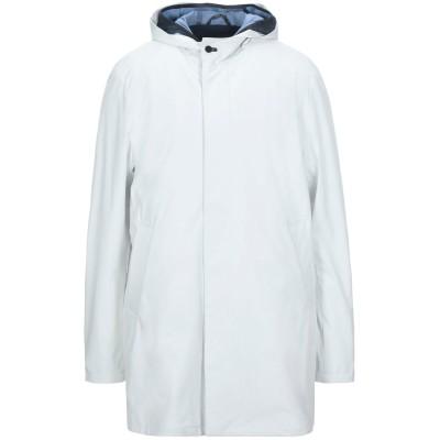 PEOPLE OF SHIBUYA コート ホワイト 46 ポリエステル 89% / ポリウレタン 11% コート