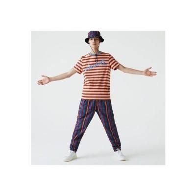 シグネチャープリントボーダーTシャツ TH0456L