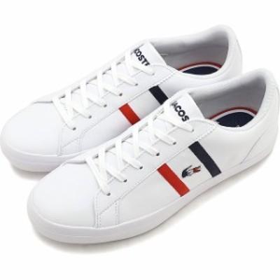 ラコステ LACOSTE レディース レロンド W LEROND TRI 1 ルロン スニーカー 靴 WHT/NVY/RED ホワイト系 [CFA0087-407 SS20]【yen300】