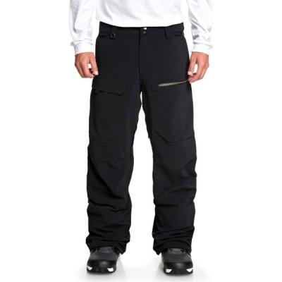 クイックシルバー Quiksilver メンズ スキー・スノーボード ボトムス・パンツ tr stretch snowboard pants Black